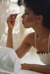 Свадебный макияж и прическа.
