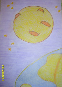 Сочинение про Луну (3 класс).