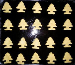 Печенье новогоднее с сухим имбирем и корицей.