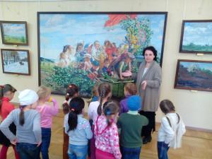 Детский садик № 104 в гостях у Музея А.А. Пластова 24 сентября 2014 г.