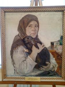 Открытие выставки одной картины в музее А.А. Пластова.