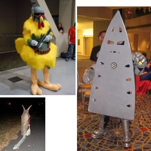Смешные костюмы на Новый год из серии «А вам слабо!?».