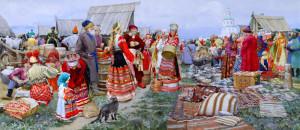 Предновогодняя сельскохозяйственная ярмарка в Ульяновске.
