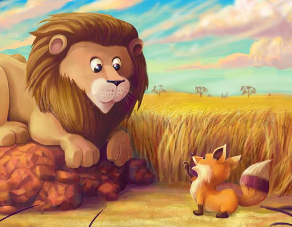 иллюстрации к басне лев и лисица временем многих домовладельцев