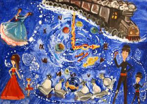 Конкурс рисунков по мюзиклу «Хроники временных миров» среди учеников школы искусств №7.