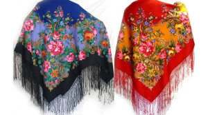 Павло-посадский платок – современная классика.