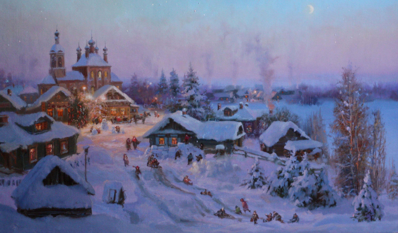 Жданов-Владимир-Юрьевич.-Накануне-Рождества