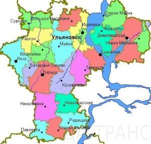 Районы Ульяновской области хотят укрупнить