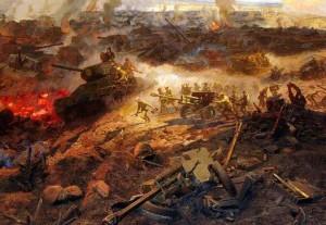 Задание по окружающему миру (4 класс): Краткий доклад о Курской битве