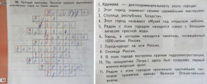 Окружающий мир (4 класс): разгадать кроссворд про города России