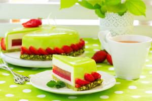 Зеркальная глазурь  для торта