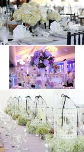 Оформление свадебного стола