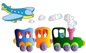 Во что поиграть с ребенком в поезде, самолете