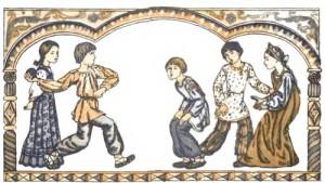 Древние славянские  игры
