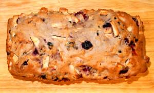 Кекс с сухофруктами и орехами