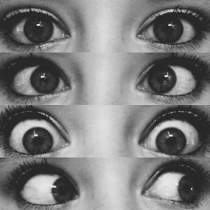 Тренируем глаза