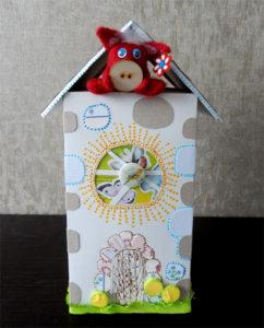 Домик – упаковка для подарка