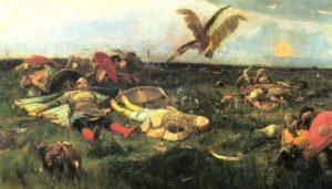 Суганова Дарья. Стих «После побоища»