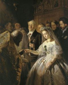 Нюансы церемонии венчания