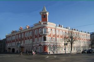 Задание по окружающему миру – доклад о башне с часами на доме Гончарова
