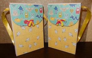 Декоративная коробка для Toffifee на 1 сентября