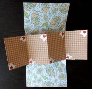 Срапбукинг. Механизм для открытки – открывашки на 4 фото