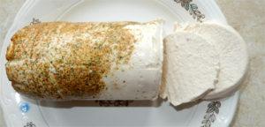 Белая колбаса из курицы в домашних условиях