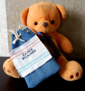 Маленький рюкзак для любимой игрушки в путешествие