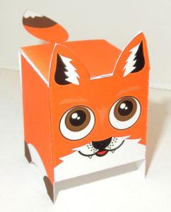 Выкройки животных – кубиков из бумаги своими руками