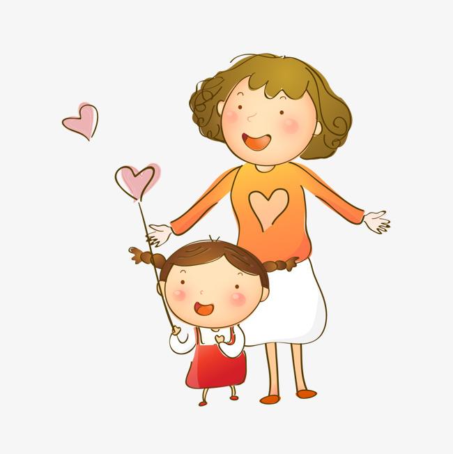 Мама с ребенком картинки для детей нарисованные, дню