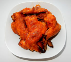 Куриные крылышки в шубе