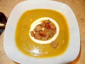 Суп – пюре горохово-картофельный