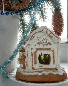 Маленький пряничный домик