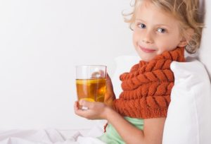 Укрепляющие чайные сборы в период простудных заболеваний
