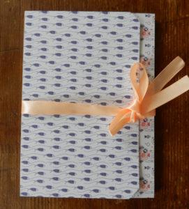 Папка для небольшого блокнота или шоколадки своими руками