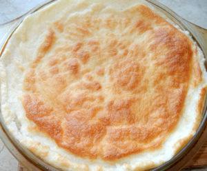 Рисовая каша, запеченная с сыром