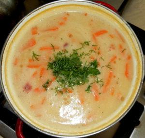 Вредный гороховый суп