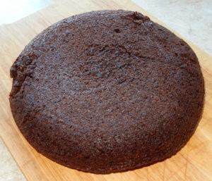 Шоколадный корж «Кризисный» без масла и яиц