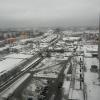 Вид на Москву из окна гостиницы