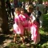 Девочки в розовом.