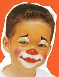 Детский макияж.