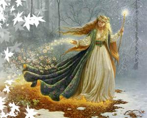 22 марта день богини Остары.