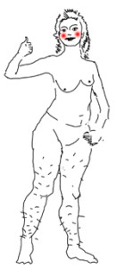 Науке известно, как должна выглядеть настоящая секс-бомба. Но она вам не понравится