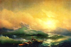 Сочинение по картине «Девятый вал».