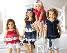 Детская мода летом 2011 года.