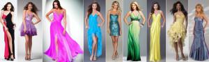 Выпускные платья в 2012 году.