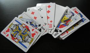 Простой карточный фокус для детей.