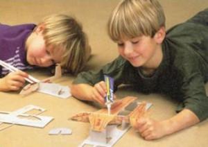 Кружок «Техническое моделирование» для детей 9-11 лет.