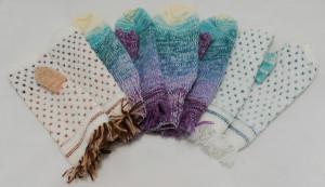 Вязаные рукавички в Ульяновске.
