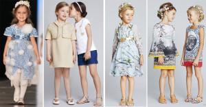 Мода для детей сезона весна-лето 2014.
